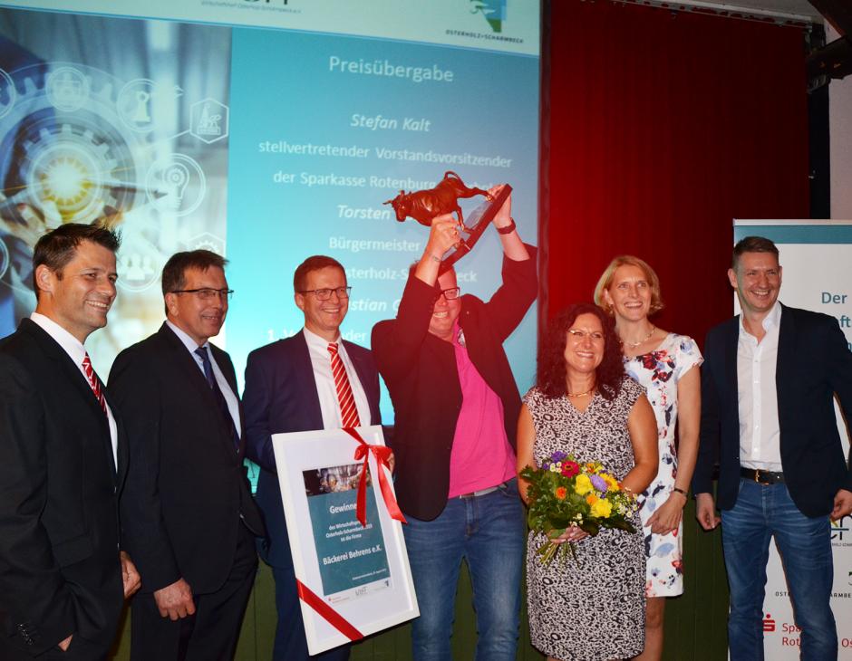 Erster Osterholzer Wirtschaftspreis auf Gut Sandbeck vergeben!