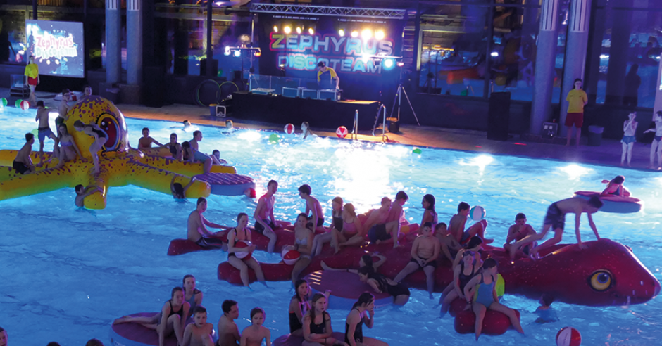 Pool-Party im Allwetterbad Osterholz-Scharmbeck