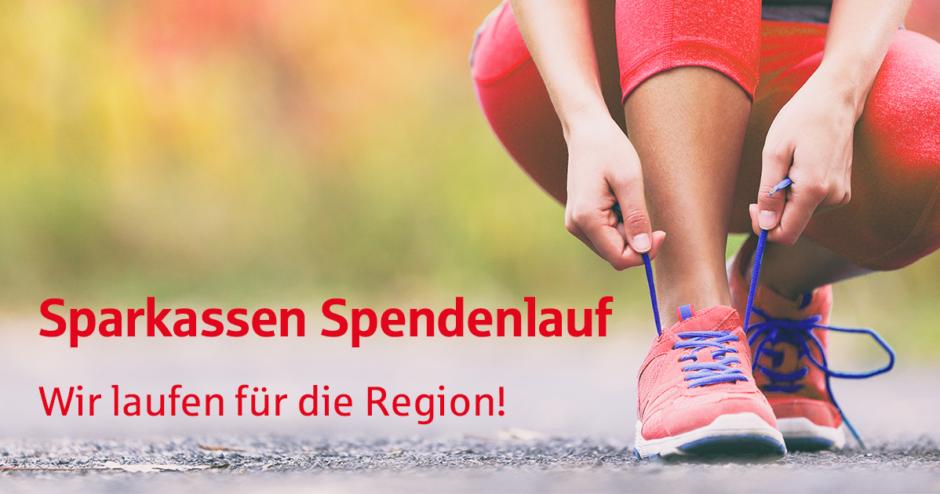 Sparkassen Spendenlauf – wir laufen für die Region!