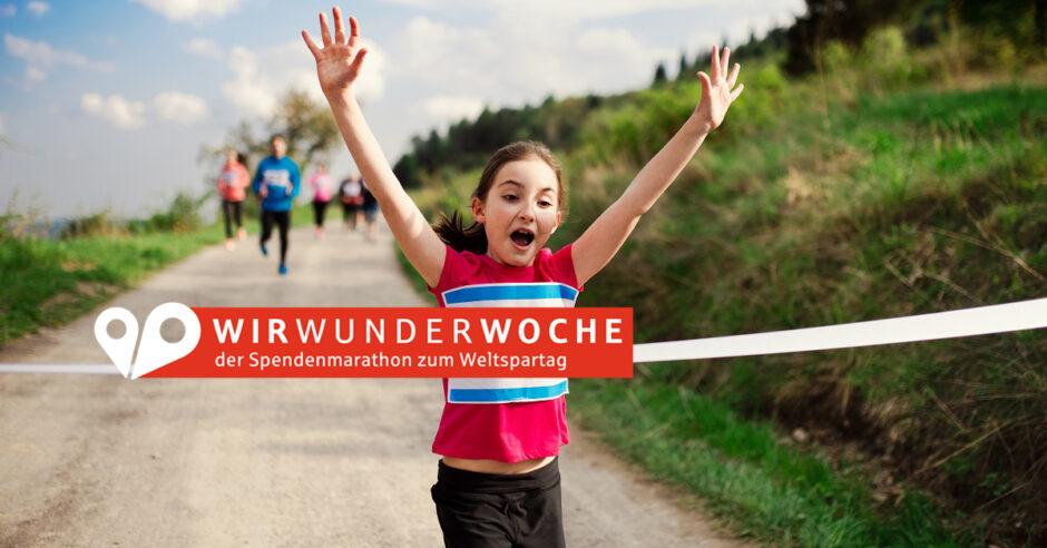WirWunderWoche – Spendenmarathon zum Weltspartag